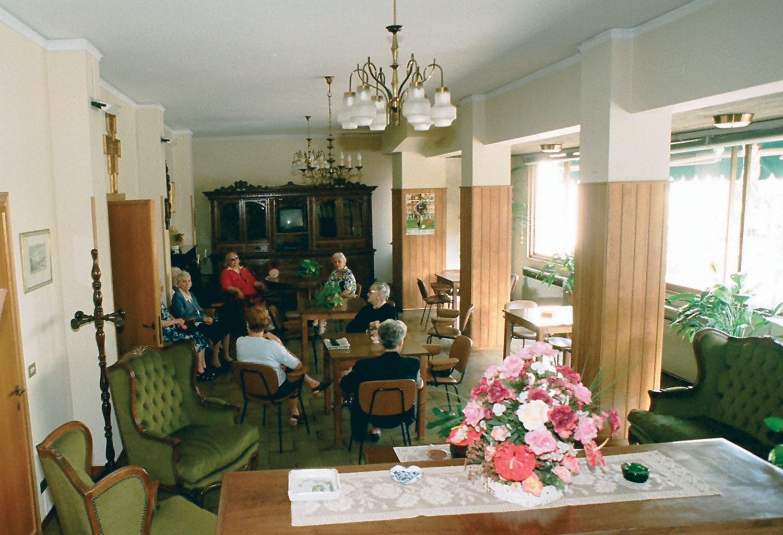 La sala interna