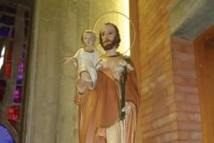 San Giuseppe all'interno della nostra Cappella